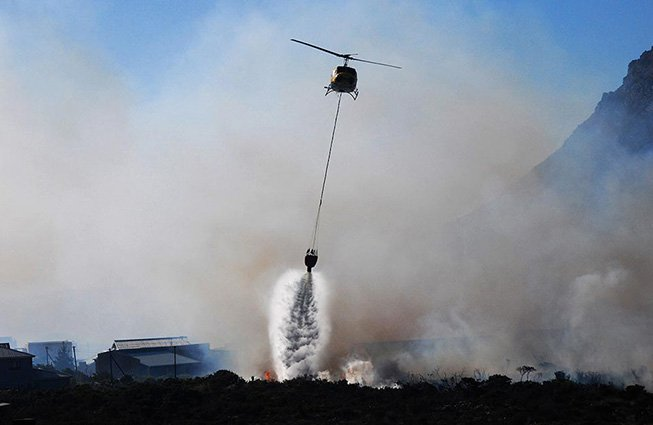 Helicopter Firefighting Dallas